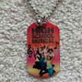 Disney Jewelry | High School Musical Disney Tag & Main Character | Color: Black/Red | Size: Os