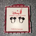 Disney Jewelry | New Disney Parks Rose Gold Minnie Mouse Earrings | Color: Gold | Size: Os