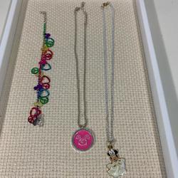 Disney Accessories   Disney Jewelry Bundle   Color: Blue/Pink   Size: Osg