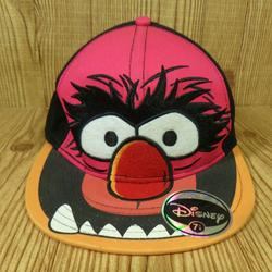 Disney Accessories   Disney The Muppets Animal Ball Hat Baseball Cap   Color: Black/Pink   Size: 7 14