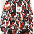 Disney Bags | Disney The Incredibles Geometric Backpack | Color: Black/Red | Size: Os