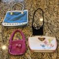 Disney Accessories | Pack Of 4 Girls Bags | Color: Pink/White | Size: Osg