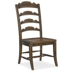 Hooker Furniture Hill Country Dining Chair Wood in Brown, Size 45.0 H x 21.25 W x 26.0 D in   Wayfair 5960-75310-BRN