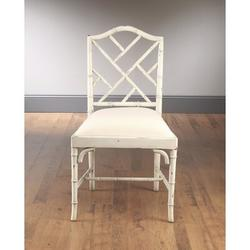 World Menagerie Asante Upholstered Dining Chair Wood/Upholstered/Fabric in White, Size 0.0 D in   Wayfair 29BE5C8CBC38430D9671184781337DE3