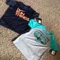 Nike Shirts & Tops | Boys Dri-Fit Shirts. 1 Under Armour And 1 Nike. | Color: Silver/White | Size: 6b