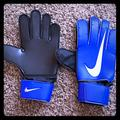 Nike Other | Nike Goalkeeper Gloves | Color: Black/Blue | Size: Hand Size 9