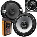 Pair of JVC Cs-DR162 DR Series 6.5 Inch 2-Way Coaxial Speakers (300 Watts Peak) - 2 Speakers + Gravity Magnet Phone Holder