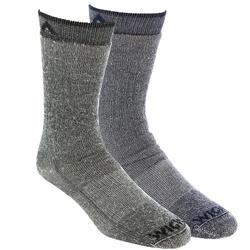Wigwam Wool Merino Comfort Hiker 2 Pack Size M Assorted/Navy/Black
