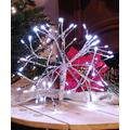 Alpine Corporation Holiday Lighting - White 48-Bulb Light-Up Snowflake Ornament