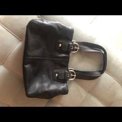 Coach Bags   Coach Purse. Real Leather Coach Purse.   Color: Black   Size: Os
