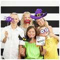 Creative Converting Halloween Plastic Disposable Party Photo Booth KitPlastic in Indigo | Wayfair DTCHA991P