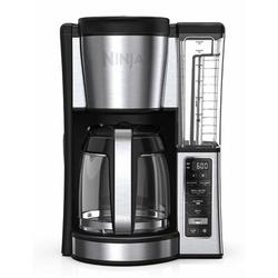 Ninja 12-Cup Programmable Coffee Maker in Gray, Size 14.61 H x 8.74 W x 9.94 D in | Wayfair CE251