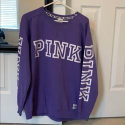 Pink Victoria's Secret Sweaters | Pink Sweatshirt | Color: Purple | Size: S