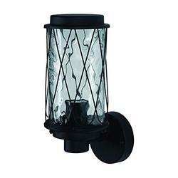 LEDVANCE Endura Classic Cage Up | Applique Extérieure | Noir | Culot E27 | Etanche IP44