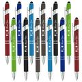 """Thank You"" Greeting Gift Stylus Pens -Capactive Styli pen with Soft Rubberized Grip-compatible with most touch screen Devices-Assorted Colors-pen and stylus combo, 12 Pack"