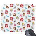Disney Princess Emoji Mouse Pad Customizable