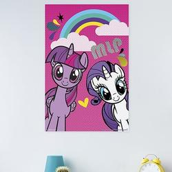 Trends International My Little Pony - Smile Paper Print Paper in Pink, Size 34.0 H x 22.375 W x 0.125 D in   Wayfair POD14153
