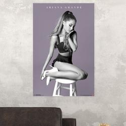 Trends International Ariana Grande - My Everything Paper Print Paper in Pink, Size 34.0 H x 22.375 W x 0.125 D in   Wayfair POD14173