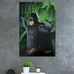 Trends International Batman - Fear Paper Print Paper in Green, Size 34.0 H x 22.375 W x 0.125 D in | Wayfair POD8532