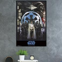 Trends International Star Wars: Rogue One - Empire Paper Print Paper in Black, Size 34.0 H x 22.375 W x 0.125 D in | Wayfair POD14095