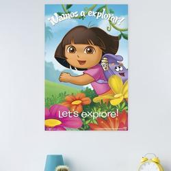 Trends International Dora - Explore Paper Print Paper in Green, Size 34.0 H x 22.375 W x 0.125 D in   Wayfair POD13157