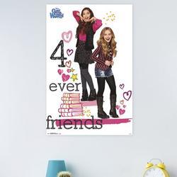 Trends International Girl Meets World - Friends Paper Print Paper in Pink, Size 34.0 H x 22.375 W x 0.125 D in | Wayfair POD14129