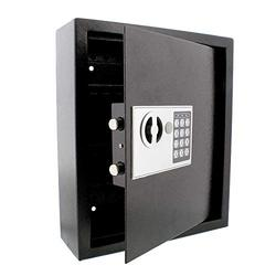 BISupply Key Safe Lock Box Key Holder Lock Key Cabinet Wall Mount Key Box Combination Lock and Keyed Entry, 40 Keys