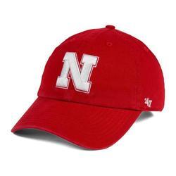 """""""Nebraska Huskers '47 Clean Up Adjustable Hat - Red"""""""