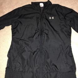 Under Armour Jackets & Coats   Black Under Armor Rain Jacket   Color: Black   Size: S