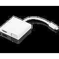 Lenovo USB-C 3-in-1 Travel Hub, 4K HDMI, VGA, USB 3.0, Simple Plug and Play