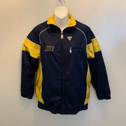 Nike Jackets & Coats | Nike Windbreaker Jacket Full Zip Boys Large 1416 | Color: Blue/Yellow | Size: Lb