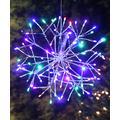 Alpine Corporation Holiday Lighting - Multicolor 96-Bulb Light-Up Snowflake Ornament