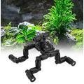 YEIU Super Rain Extension- Reptiles Terrarium Nozzle avec Pompe, pour Reptiles Amphibiens Plantes Fleurs