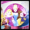 Disney Other | Disney Princess Night Light W Rotary Shade | Color: Blue/Pink | Size: Osg