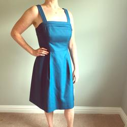 J. Crew Dresses   J Crew Marie Cotton Cady Dress - Cadet Blue   Color: Blue   Size: 4
