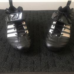 Adidas Shoes   Adidas Mens Sports Cleats Sz 14   Color: Black/White   Size: 14
