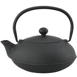 Charlton Home® Pedigo 0.63-qt Cast Iron Teapot Cast Iron in Green, Size 6.0 H x 6.5 W x 5.75 D in | Wayfair 73477