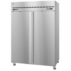 "Hoshizaki DT2A-FS SteelHeart 55"" Two Section Commercial Refrigerator Freezer - Solid Doors, Top Compressor, 115v"