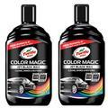 Turtle Wax Color Magic 52708# Lot de 2 Vernis pour Voiture Restaure la Couleur et la Brillance Noir 2 x 500 ML