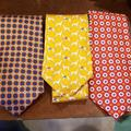 Polo By Ralph Lauren Accessories   3 Polo By Ralph Lauren Ties   Color: Blue/Red   Size: Os