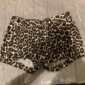 J. Crew Shorts   J. Crew Nwot Sz 0 Cheetah Chino Shorts   Color: Black/Brown   Size: 0