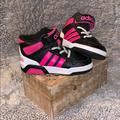 Adidas Shoes   Adidas Neo Girls Hightop Pink And Black Shoe   Color: Black/Pink   Size: 7bb