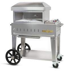 Crown Verity CV-PZ-24-MB Outdoor Pizza Deck Oven, Liquid Propane