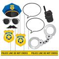 Creative Converting Police Party Photo Props Plastic   Wayfair 329397