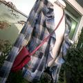 Free People Jackets & Coats | Free People Plaid Jacket | Color: Blue/Gray | Size: 6