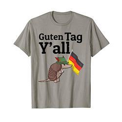 Guten Tag Y'all Texas Armadillo German Flag Hat gift T-Shirt