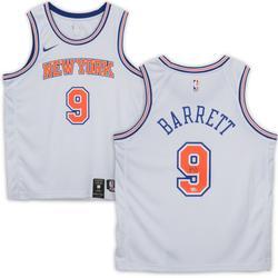"""""""R.J. Barrett New York Knicks Autographed Nike White Swingman Jersey"""""""