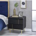 Shadan Nightstand/End Table in Black - Acme Furniture 97550