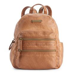 Stone & Co. Smokey Mountain Double-Entry Mini Backpack, Brown Over