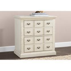 Birch Lane™ Henrietta 2 Drawer NightstandWood in Brown/White, Size 29.0 H x 28.0 W x 18.0 D in | Wayfair 269DC88396B04340BCB24FA5344EB25F